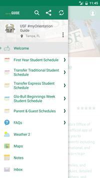 USF #myOrientation Guide apk screenshot
