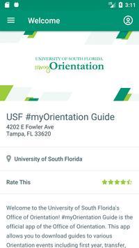 USF #myOrientation Guide screenshot 1
