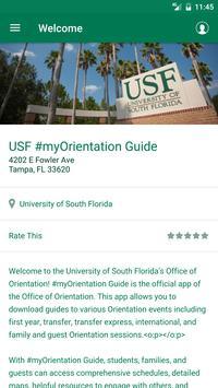 USF #myOrientation Guide screenshot 2