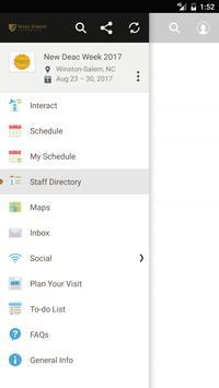 WFU Orientation Programs apk screenshot