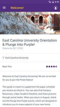 East Carolina University Guide apk screenshot