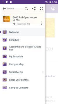 East Carolina University Guide screenshot 2