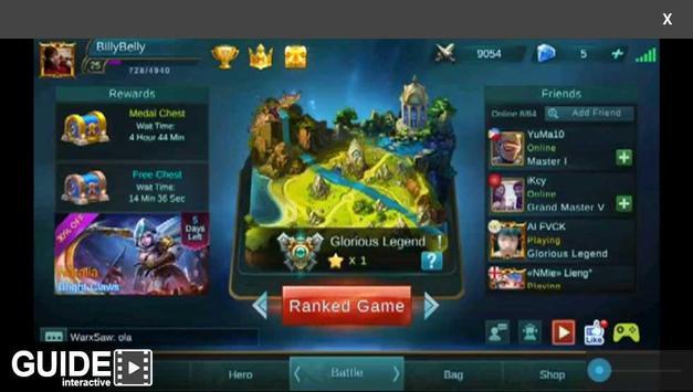 Trick for Mobile Legends apk screenshot