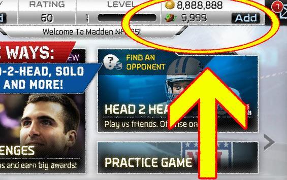 Coin Cash Madden NFL Mobile screenshot 1