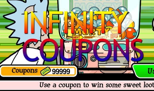 Coupons Pocket Mortys apk screenshot