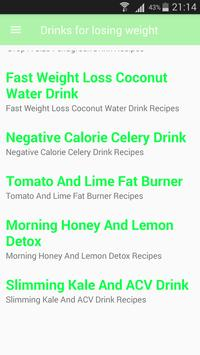 LossDrinks - Drinks For Losing Weight screenshot 3