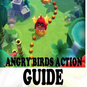 Guides for Angry birds action poster