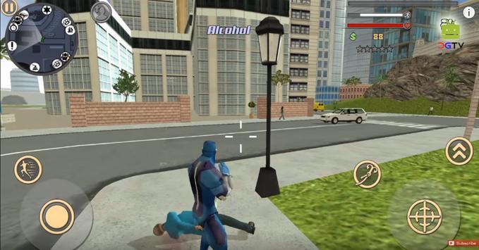Guide Rope Hero: Vice Town apk screenshot