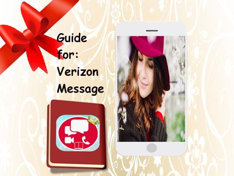 Guide for verizon messages poster