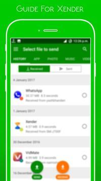 Guide Xender File Transfer screenshot 4