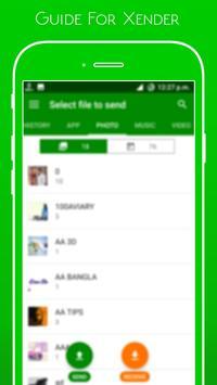 Guide Xender File Transfer screenshot 5