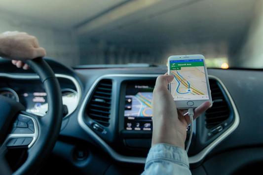 Guide for Android Auto Maps Media Voice Messaging poster