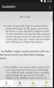 Guide Candy Crush Jelly Tips poster