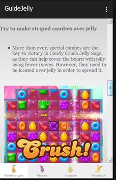 Guide Candy Crush Jelly Tips screenshot 1