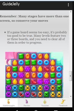 Guide Candy Crush Jelly Tips screenshot 2