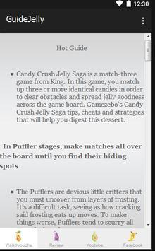 Guide Candy Crush Jelly Tips screenshot 8