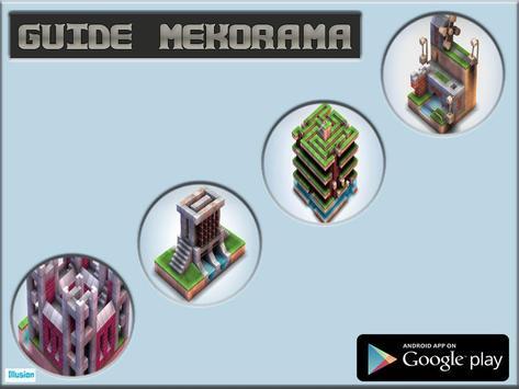guide for mekorama poster