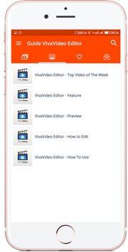 Tutorial & Tips for VivaVideo apk screenshot