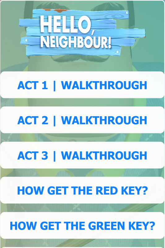 New Guide For Hello Neighbor for Android - APK Download