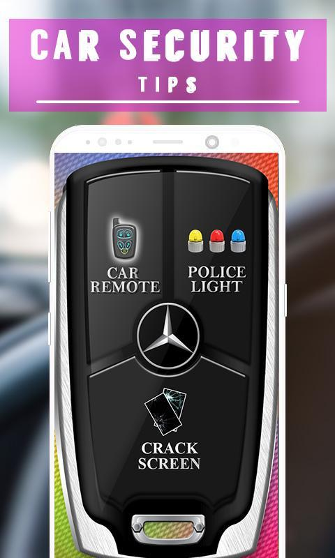Car Security Tips 2018 poster