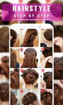 Best Hairstyle Step by Step 2018 screenshot 5