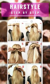 Best Hairstyle Step by Step 2018 screenshot 7