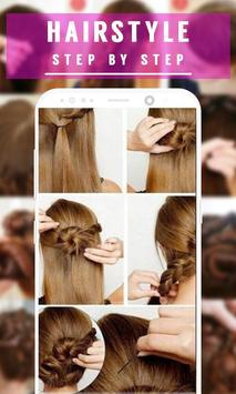 Best Hairstyle Step by Step 2018 screenshot 8