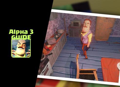 Guide Hello Neighbor Alpha 3 poster