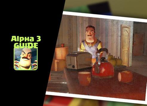 Guide Hello Neighbor Alpha 3 apk screenshot