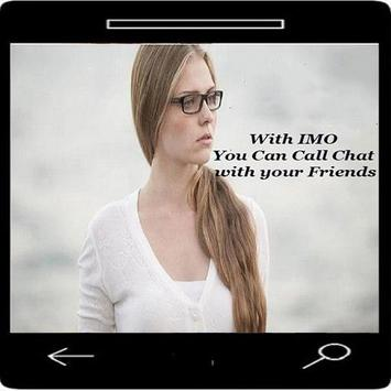 New imo free video calls and chat imo 2017 Tips poster