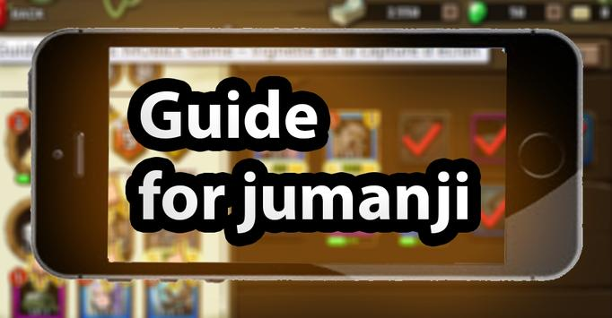 guide JUMANJI: THE MOBILE GAME pro 2018 tips poster