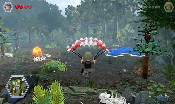 Guide: LEGO Jurassic World poster