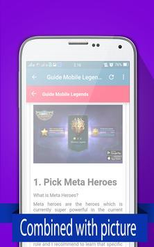 New Guide Mobile Legends 2017 apk screenshot