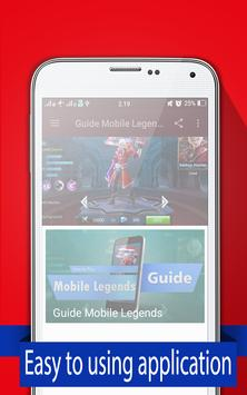 New Guide Mobile Legends 2017 poster