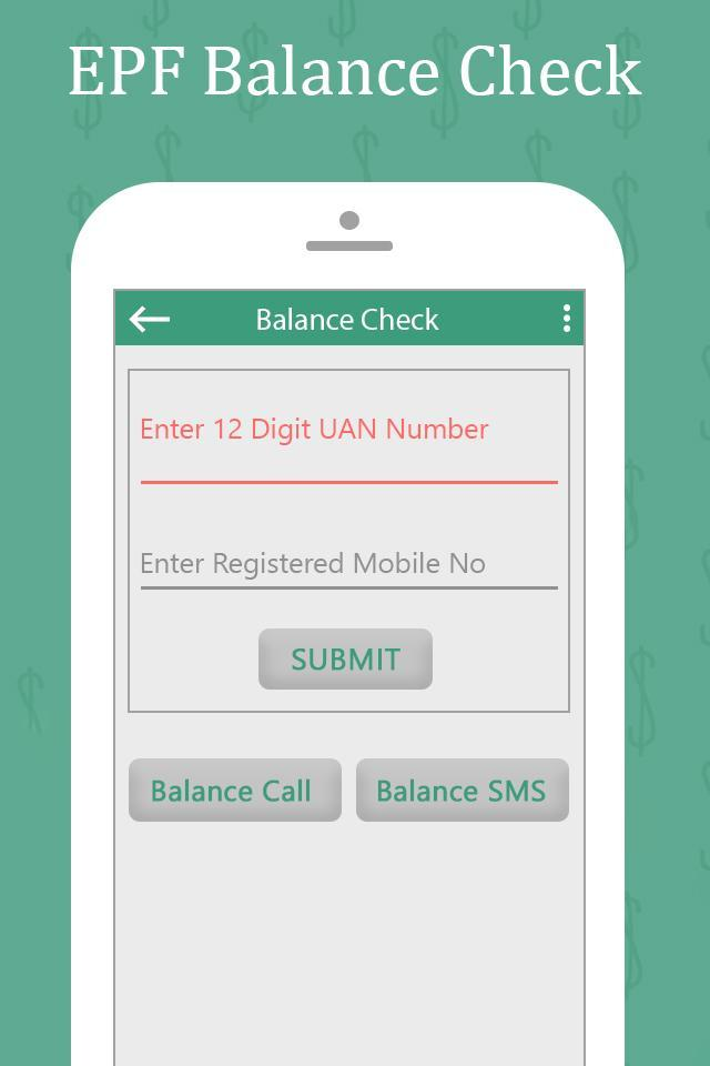Check EPF Balance Online for Android - APK Download