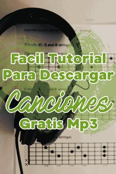 Bajar Canciones Gratis MP3 al Celular Tutorial screenshot 2