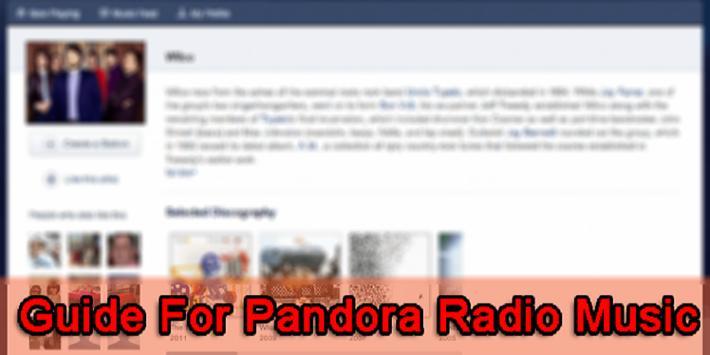 Guide For Pandora Radio Music screenshot 1