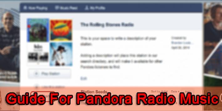 Guide For Pandora Radio Music screenshot 2