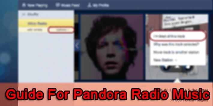 Guide For Pandora Radio Music screenshot 4