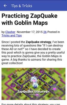 Tips Tricks for Clash of Clans screenshot 8
