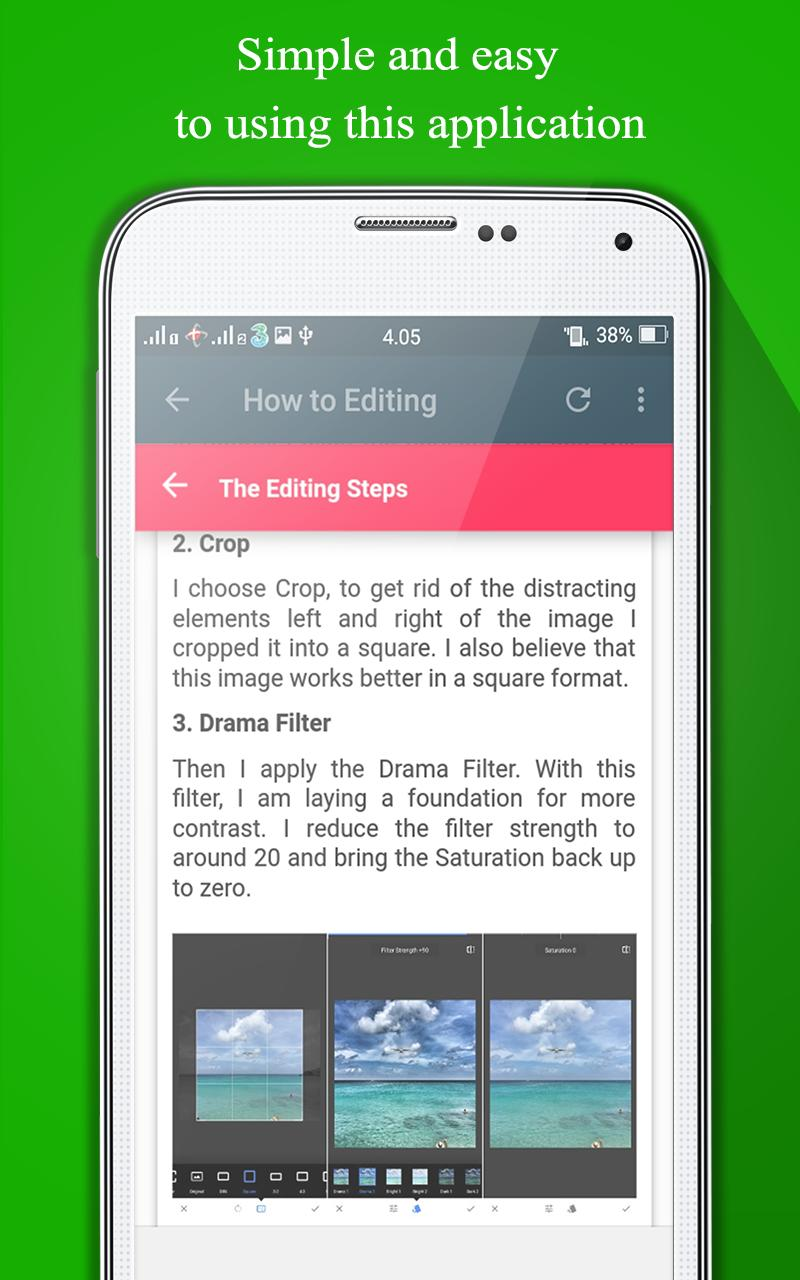 Guide Snapseed for Android - APK Download