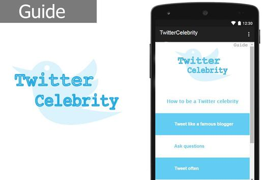 Twitter Celebrity poster