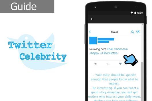 Twitter Celebrity screenshot 1