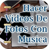 Hacer Videos de Fotos con Musica Tutorial icon