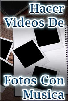 Hacer Videos de Fotos con Musica Tutorial poster