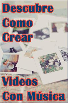Hacer Videos de Fotos con Musica Tutorial screenshot 1