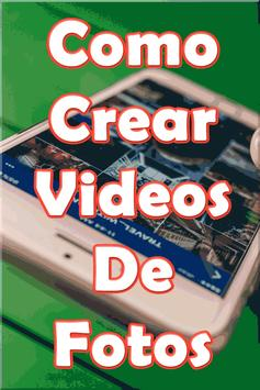 Hacer Videos de Fotos con Musica Tutorial screenshot 3