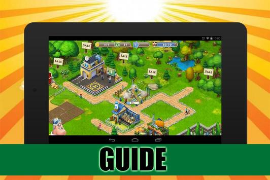 Guide for Township: Tips poster