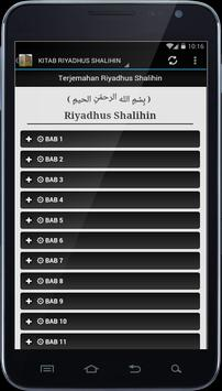 Kitab Kuning Riyadhus Shalihin apk screenshot