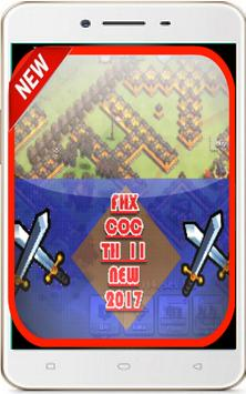 fhx coc new th11 mod latest poster